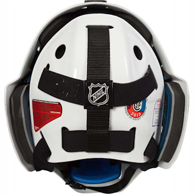 Back (Bauer NME 8 Certified Straight Bar Hockey Goalie Mask - Senior)