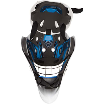 Inside (Bauer NME 8 Certified Straight Bar Hockey Goalie Mask - Senior)