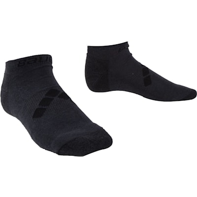 Grey (Bauer Training Low Socks - Adult)