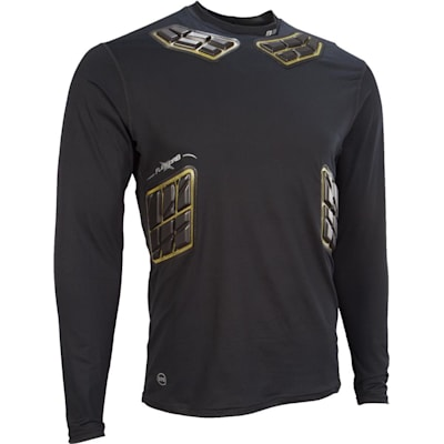 Elite Padded Long Sleeve Shirt (Bauer Elite Padded Long Sleeve Shirt - Adult)