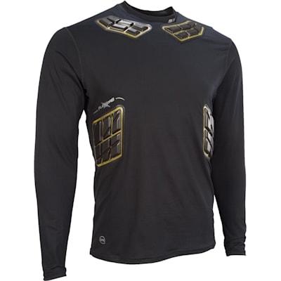 Elite Padded Long Sleeve Shirt (Bauer Elite Padded Long Sleeve Performance Shirt - Adult)