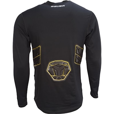 (Bauer Elite Padded Long Sleeve Shirt - Adult)