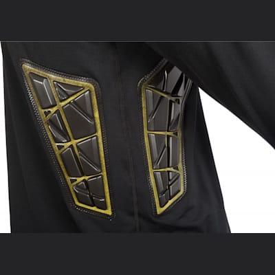 Rib Padding Detail (Bauer Elite Padded Goalie Long Sleeve Shirt - Mens)