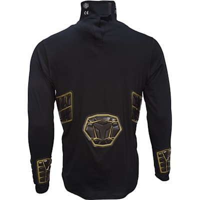 Back View (Bauer Elite Padded NeckProtect Long Sleeve Shirt - Youth)