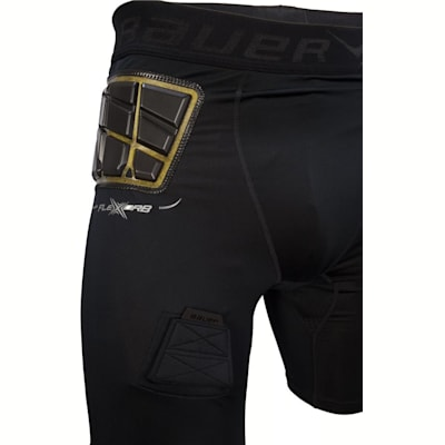 FireXorb Technology Allows For Better Protection (Bauer Elite Padded Hockey Jock Shorts - Mens)
