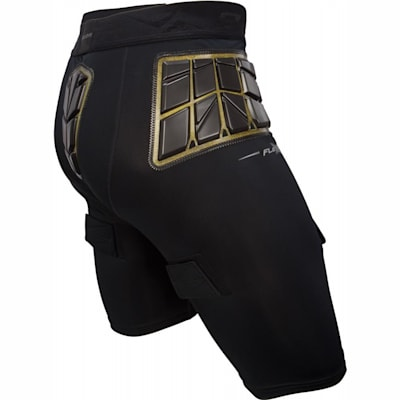 Back View (Bauer Elite Padded Hockey Jock Shorts w/ Cup - Mens)
