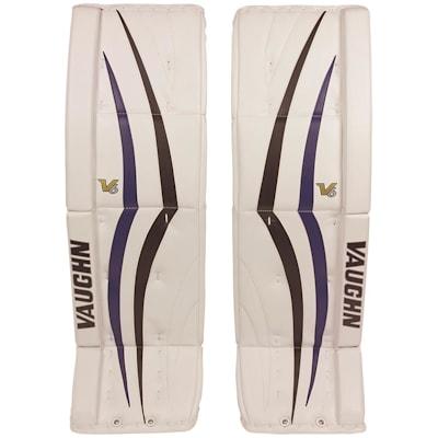 Vaughn Vpg 1100 Velocity V6 Hockey Goalie Leg Pads Senior Hockey