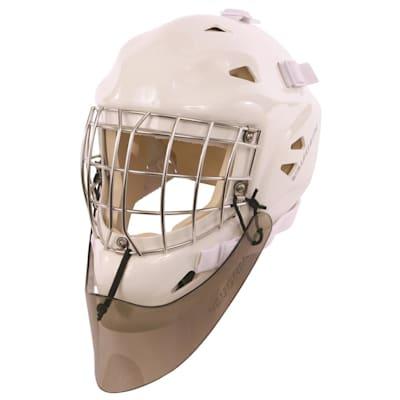 Vaughn 2000 Lexan Goalie Throat Protector (Vaughn 2000 Velocity 6 Lexan Goalie Throat Protector)