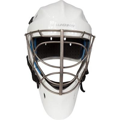 Front View (Vaughn Carbon Elite Pro Non-Certified Goalie Mask - Senior)