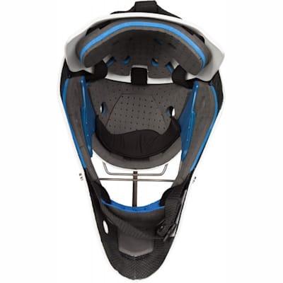 Inside View (Vaughn Carbon Elite Pro Non-Certified Goalie Mask - Senior)
