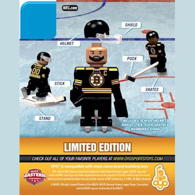 Back (OYO Sports Boston Bruins NHL Mini Figures - Home Jersey)