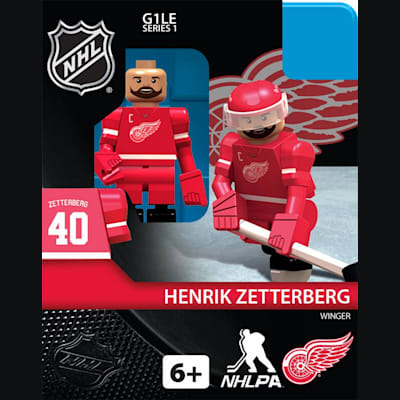Henrik Zetterberg (OYO Sports Detroit Red Wings NHL Mini Figures - Home Jersey)