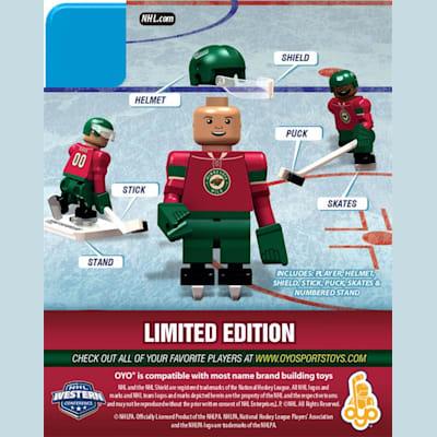 promo code 17d8b d30d3 OYO Sports Minnesota Wild NHL Mini Figures - Home Jersey ...