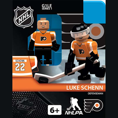 Luke Schenn (OYO Sports Philadelphia Flyers NHL Mini Figures - Home Jersey)