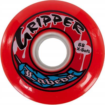 Red (Labeda Gripper Inline Hockey Wheel - X-Soft)
