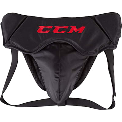 Black (CCM 500 Goalie Jock - Senior)