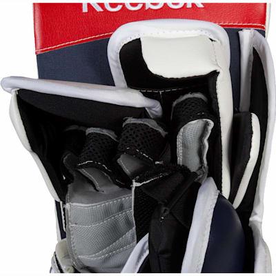 Grey Suregrip Palm (Reebok Premier XLT Goalie Blocker - Senior)