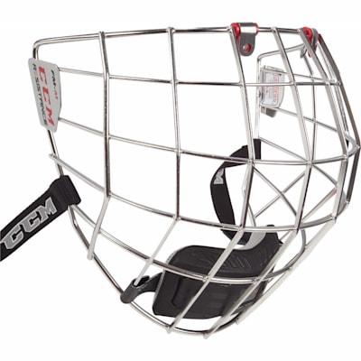 Silver (CCM Resistance Hockey Helmet Cage - Senior)