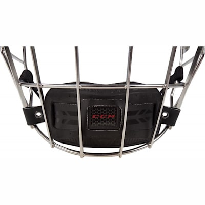 Front Of Chin Cup (CCM Resistance Hockey Helmet Cage - Senior)