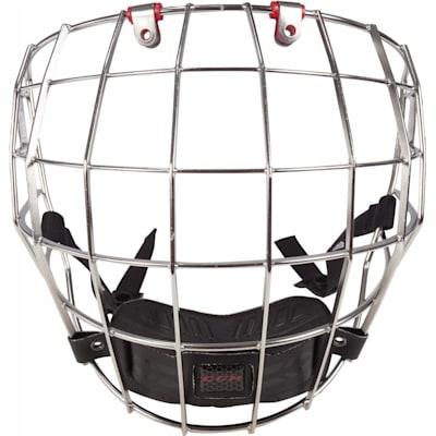 Front View (CCM Resistance Hockey Helmet Cage - Senior)