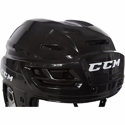 Zoomed Front View (CCM RES 100 Hockey Helmet)