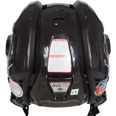 Back View (CCM RES 100 Hockey Helmet)