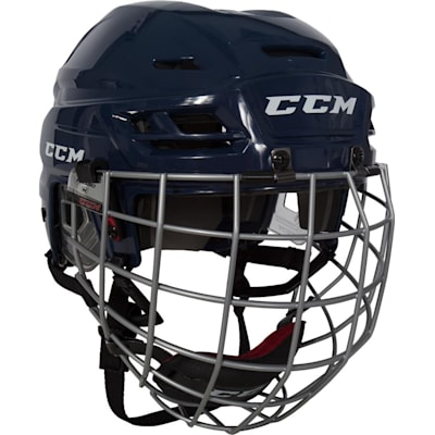 Navy (CCM RES 100 Hockey Helmet Combo)