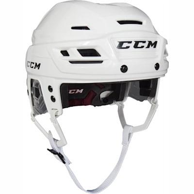 White (CCM Resistance 300 Hockey Helmet)