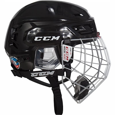 Side View (CCM Resistance 300 Hockey Helmet Combo)