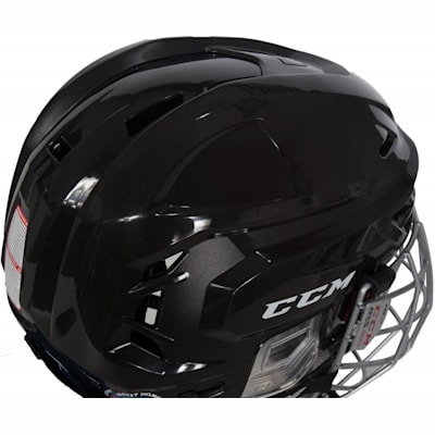 Closeup Of Side (CCM Resistance 300 Hockey Helmet Combo)