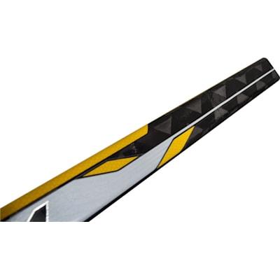 Top Of Shaft (CCM Tacks 5052 Grip Composite Hockey Stick - Intermediate)