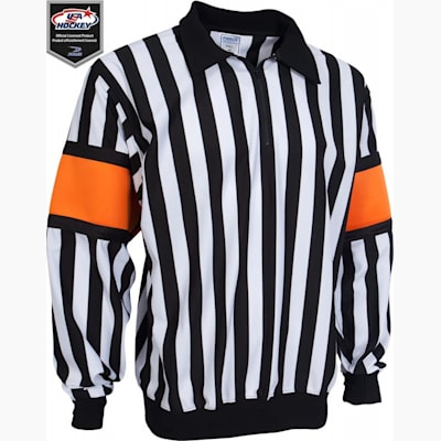 Mens (Force Pro Referee Jersey w/ Orange Armbands - Mens)