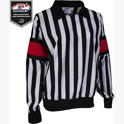 Pro Referee Jersey w/ Red Armbands (Force Pro Referee Jersey w/ Red Armbands - Womens)
