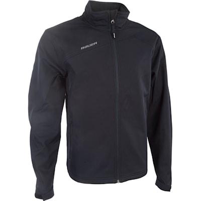 Black (Bauer Team Softshell Full-Zip Jacket - Mens)