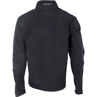 Back View (Bauer Team Softshell Full-Zip Jacket - Mens)