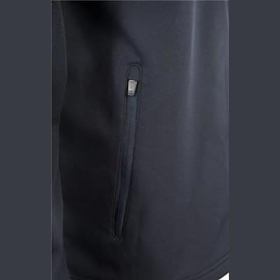 Zipper View (Bauer Team Softshell Full-Zip Jacket - Mens)