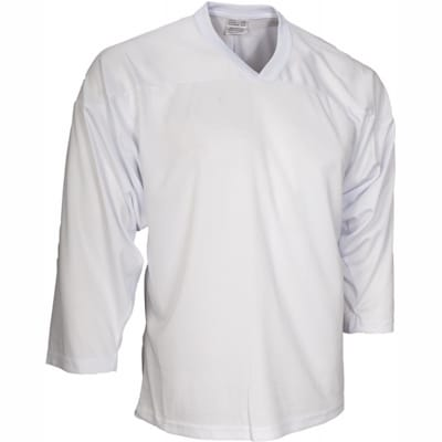 White (CCM 10200 Practice Jersey - Junior)