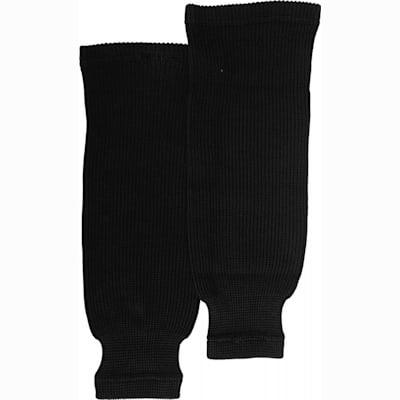 Black (Bauer Core Practice Knit Hockey Socks - Boys)