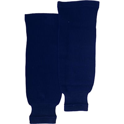 Navy (Bauer Core Practice Knit Hockey Socks - Mens)
