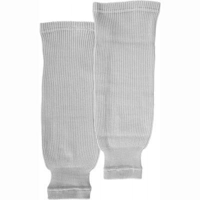 White (Bauer Core Practice Knit Hockey Socks - Mens)