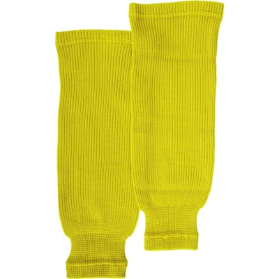 Yellow (Bauer Core Practice Knit Hockey Socks - Mens)