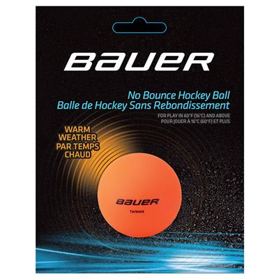 Orange (Bauer Warm Temperature Hockey Ball)