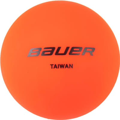 Orange (Bauer Warm Temperature Street Hockey Ball 4 Pack)