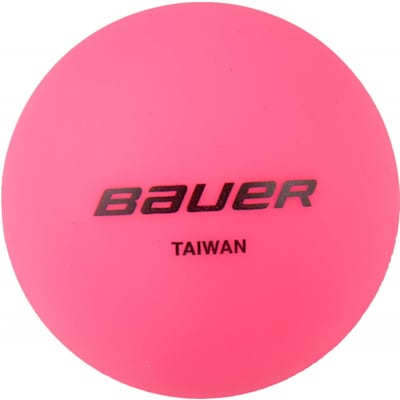 Pink (Bauer Cool Temperature Hockey Ball)