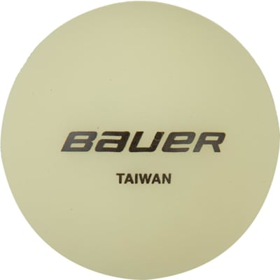 (Bauer Glow In The Dark Hockey Ball)