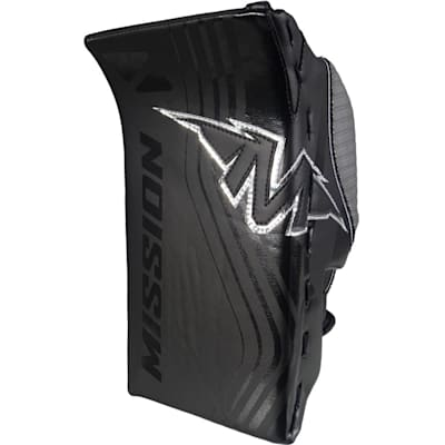 Slyde 2.0 Goalie Blocker - Black (Mission Slyde 2.0 Goalie Blocker - Junior)