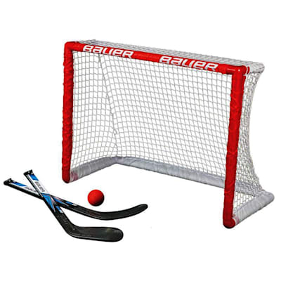 30.5x23x13.5 (Bauer Knee Hockey Goal w/ 2 Sticks & 1 Ball)