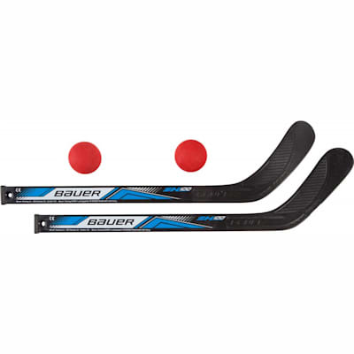 Two Stick Set (Bauer Two Mini Sticks w/ Two Balls)