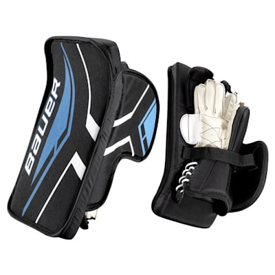 Street Goal Blocker (Bauer Street Hockey Goalie Blocker - Junior)