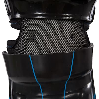 Strap View (Bauer Street Hockey Shin Guards - Junior)